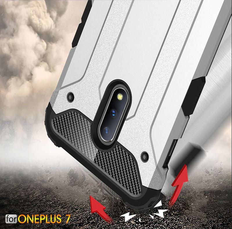 OnePlus 7 Pro 1+7 Pro Super Tough Armor Bumper Case Cover