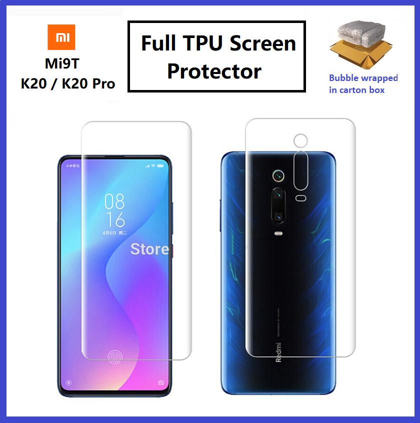XiaoMi Mi Note 10 / Mi Note 10 Pro / Mi Note 10 Lite / Mi 9T / Mi 9T Pro Front Back Full Coverage 3D Screen Protector