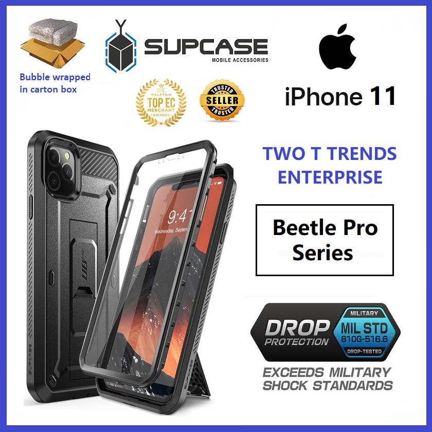 Apple iPhone 11 / iPhone 11 Pro / iPhone 11 Pro Max SUPCASE Unicorn Beetle UB Pro Case Bumper Cover built in screen protector ORI
