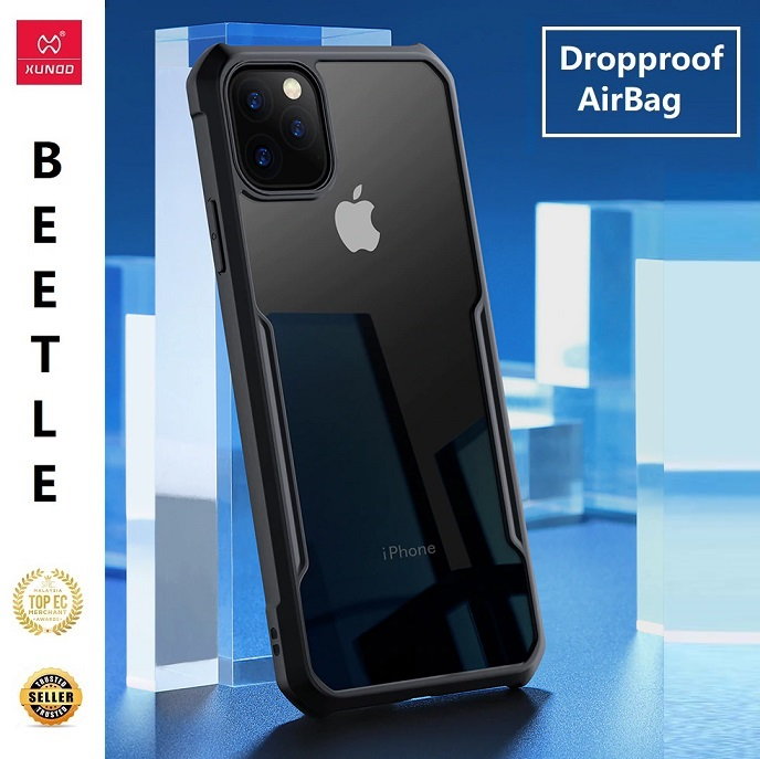 Apple iPhone 11 / iPhone 11 Pro / iPhone 11 Pro Max XUNDD Shockproof Military Grade Bumper ORI