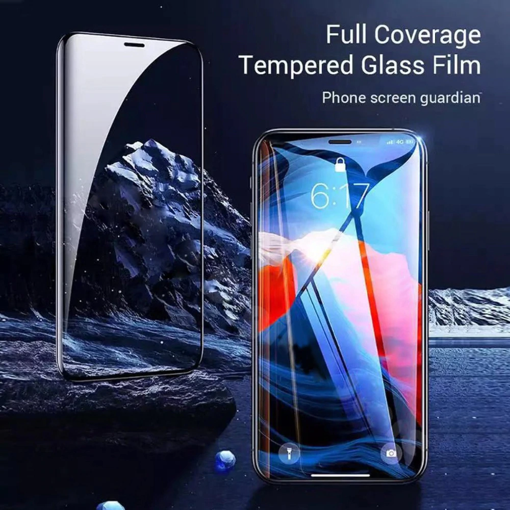 Apple iPhone 11 / iPhone 11 Pro / iPhone 11 Pro Max 21D Full Tempered Glass Front Back Screen Protector