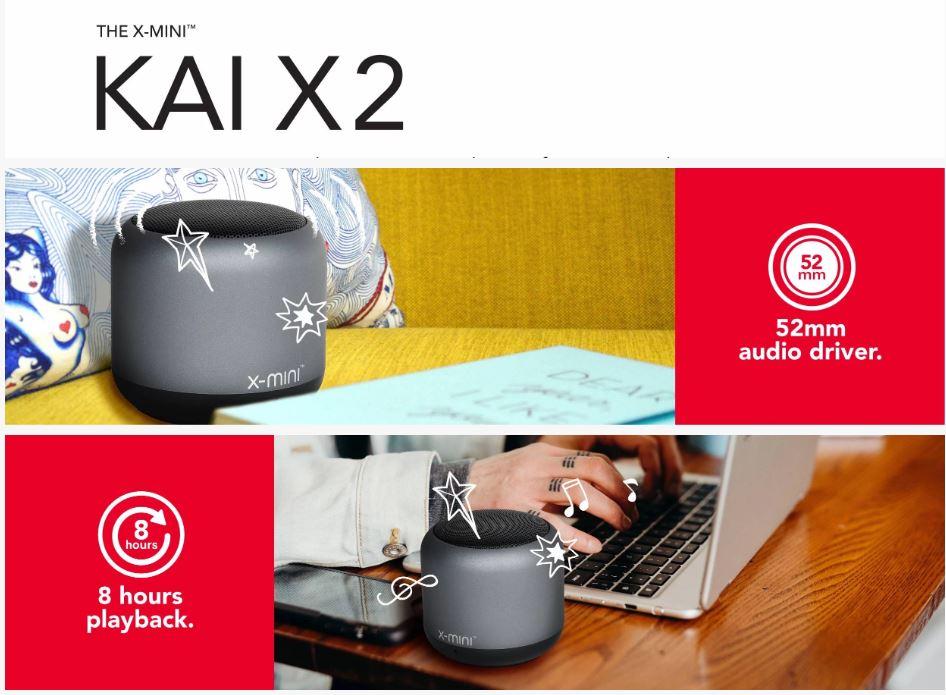 X-Mini Kai X3 / Kai X2 / Kai X1 Portable Bluetooth Speaker Original