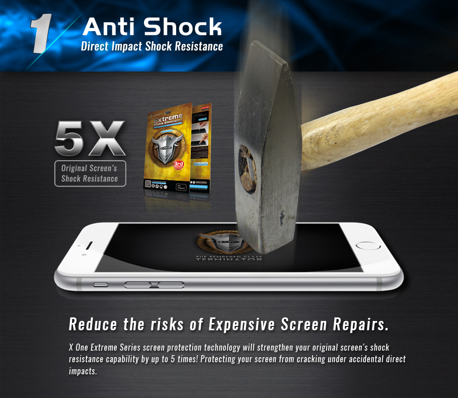 Vivo S1 Pro X-One Extreme Shock Eliminator Screen Protector 3rd Gen ORI