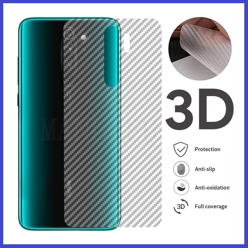 XiaoMi RedMi K30 / Mi 9T / Mi 9T Pro / K20 / K20 Pro Carbon Matte Fiber Film Back Protector Anti-Fingerprint
