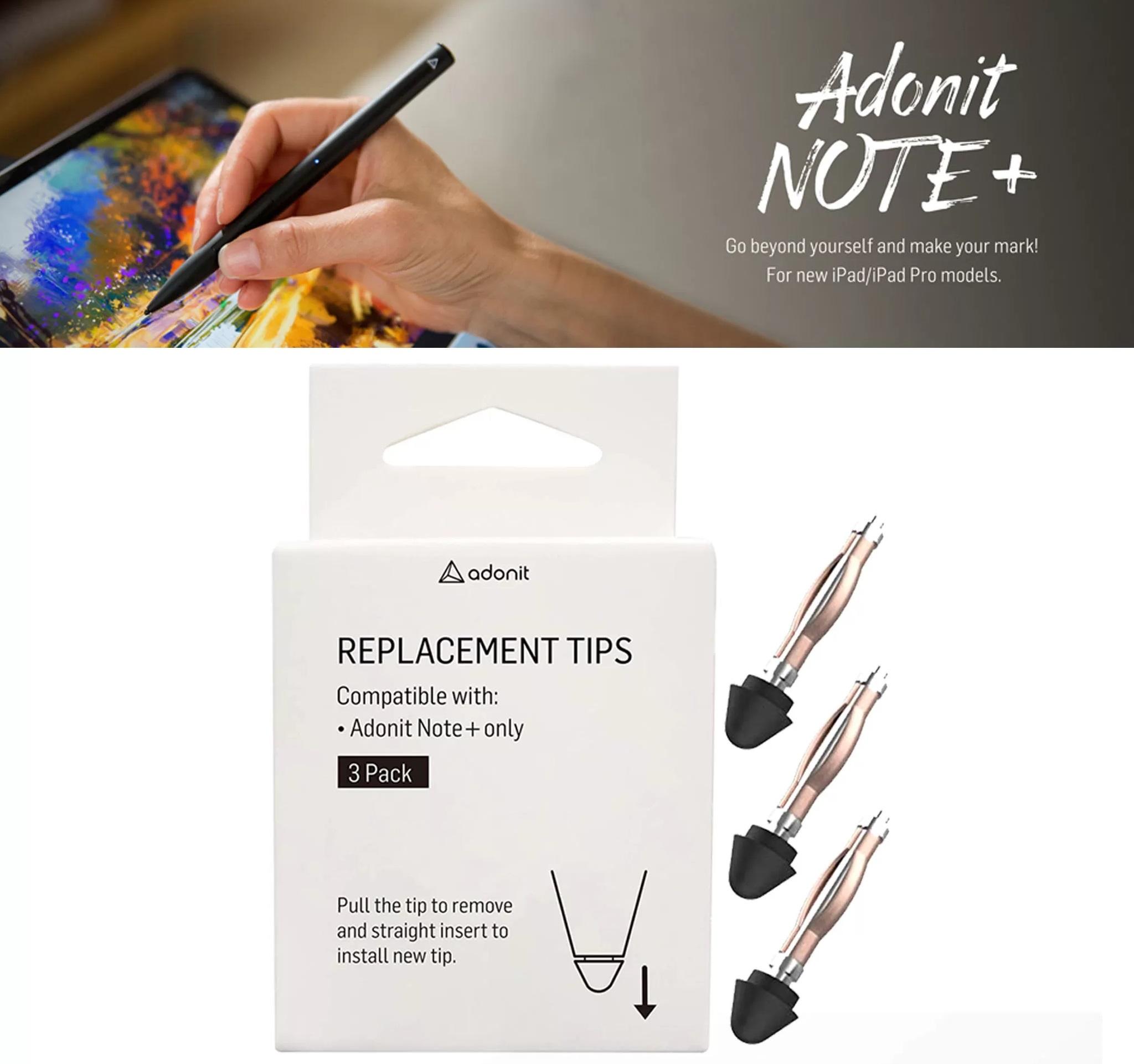 Adonit Note+ Plus / Adonit Note Replacement Tips (ARNST) (3pcs)