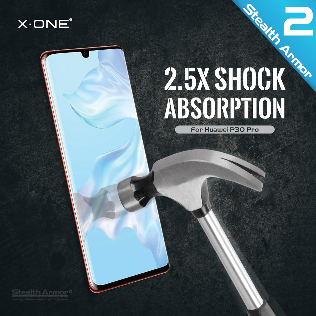 Samsung Galaxy S20 / S20 Plus / S20 Ultra / S20+ X-One Stealth Armor Ver 2 Seamless Anti Shock Screen Protector