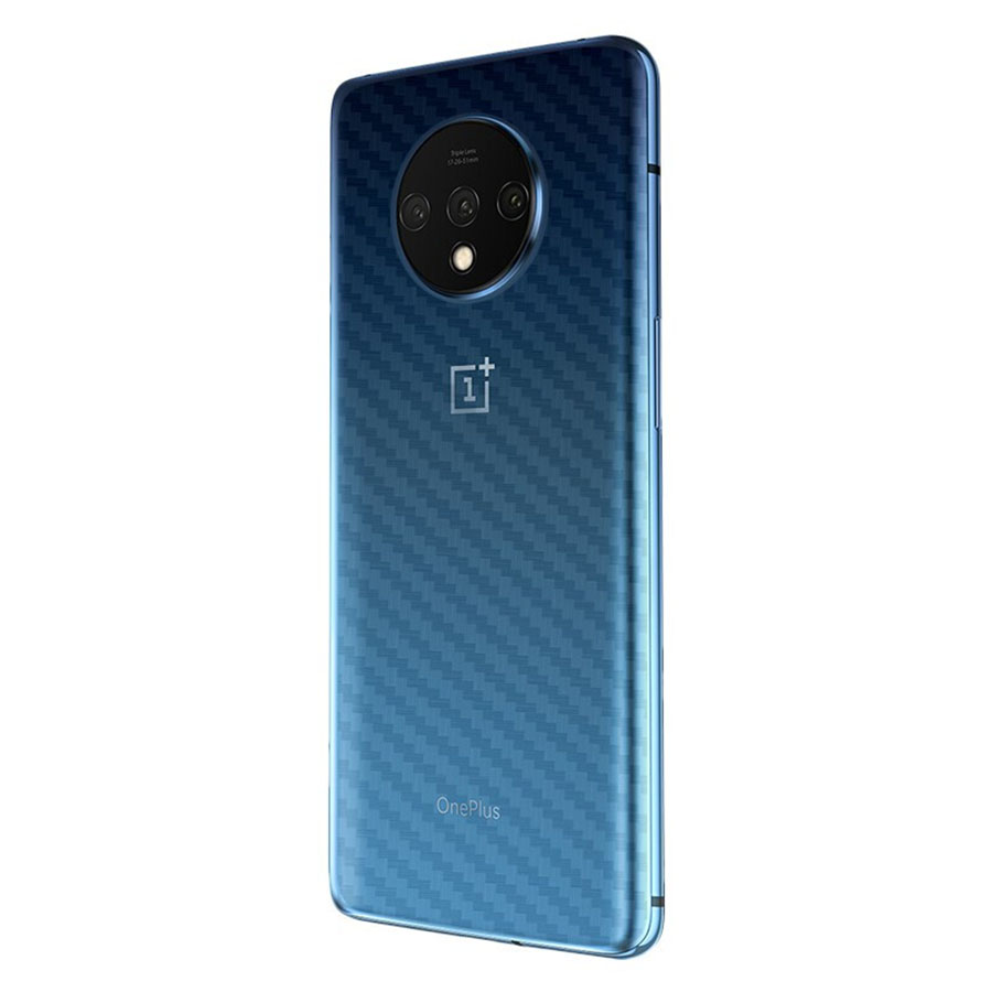 OnePlus 7T Pro / OnePlus 7T / OnePlus 7 Pro Back Carbon Matte Film Protector Anti Fingerprint