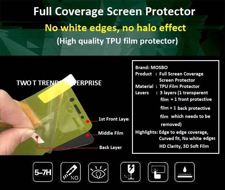 XiaoMi Mi 10 / Mi 10 Pro Front Back Full Coverage 3D Soft Hydrogel Screen Protector