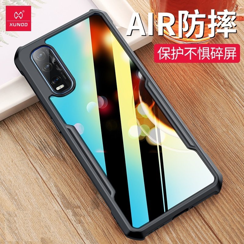 Oppo Find X2 / X2 Pro XUNDD Shockproof Military Grade Protection Bumper Case Cover ORI