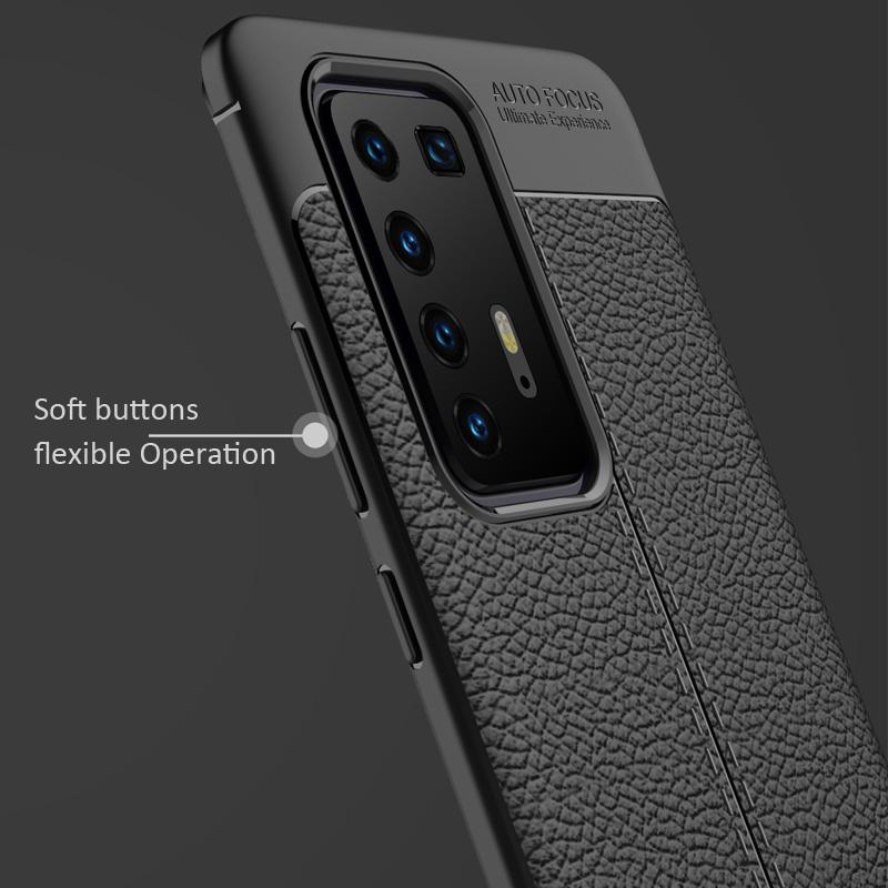 Huawei P40 Pro Dermatoglyph Matte Anti-Fingerprint Case Bumper Cover