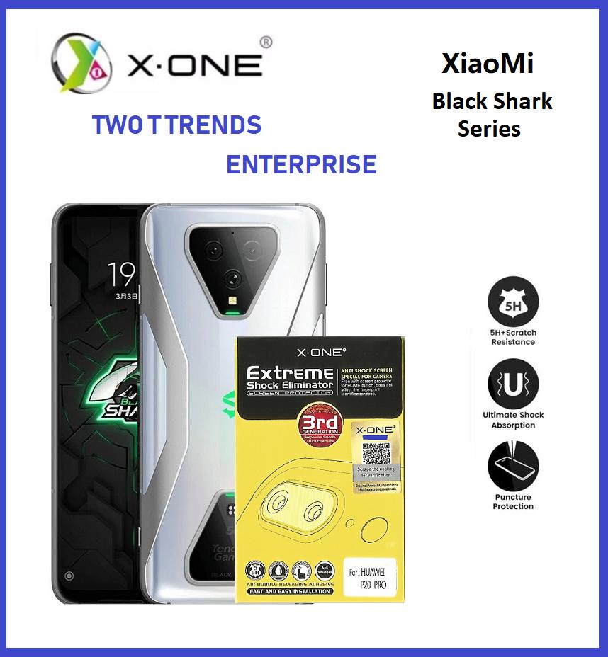XiaoMi Black Shark 3 / Black Shark 3 Pro X-One Extreme Camera Lens Protector (2pcs)