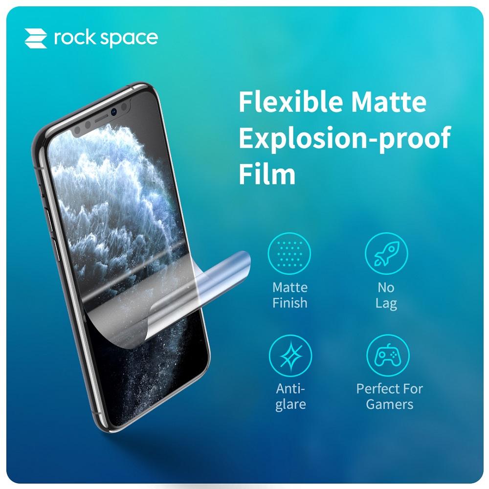XiaoMi Mi Black Shark 3 / Shark 3 Pro Shark 2 Rock Space Clear Matte Anti Blue Light Hydrogel Screen Protector Rockspace