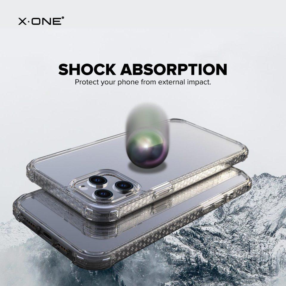 Apple iPhone 12 / iPhone 12 Mini / iPhone 12 Pro / iPhone 12 Pro Max X-One DropGuard Pro Clear Bumper Case Drop Guard