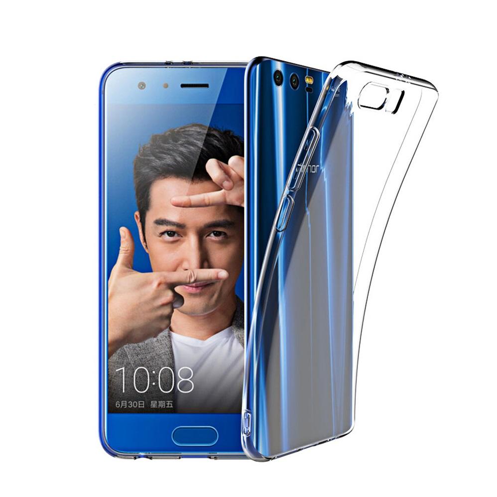 Huawei Honor 9 8 Pro Soft Transparent Case Slim TPU Cover