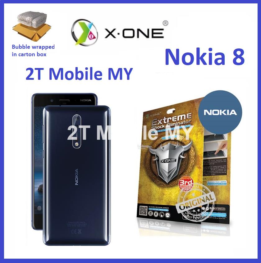 Nokia 8 / Nokia 8.1 / Nokia 6.1 X-One Extreme Shock Eliminator Screen Protector