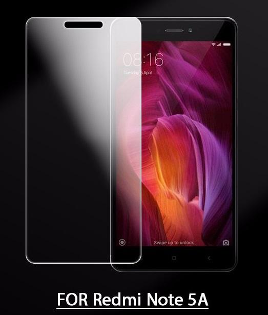 XiaoMi RedMi Note 5A / Prime Tempered Glass Screen Protector