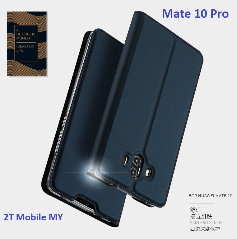 Huawei Mate 10 Mate 10 Pro DUX DUCIS Luxury Flip Leather Case Cover