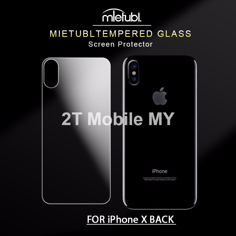 best loved 9e1f5 ad03f Apple IPhone X Tempered Glass Screen Protector Front and Back