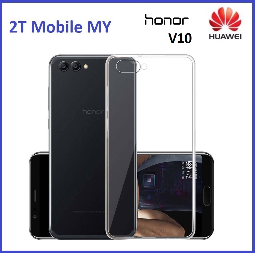 sports shoes ec530 922ff Huawei Honor V10 Soft Transparent Case Slim TPU Cover