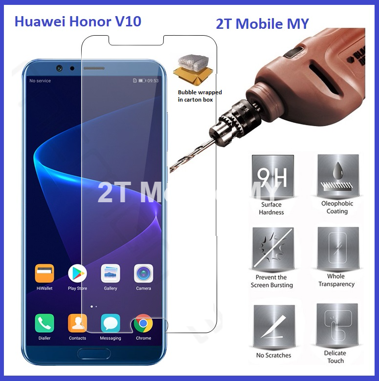 Huawei Honor V10 Tempered Glass Screen Protector