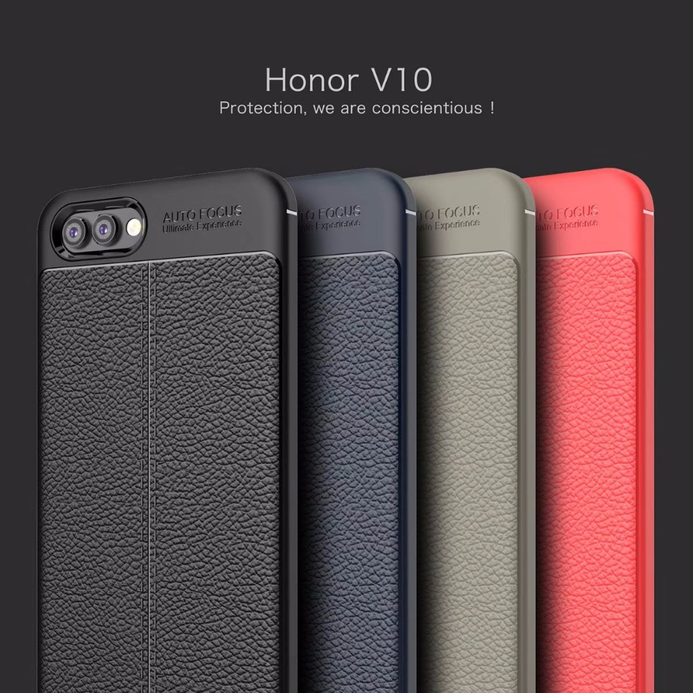 Huawei Honor View 10 (V10) Dermatoglyph Case Matte Anti-Fingerprint Bumper Cover