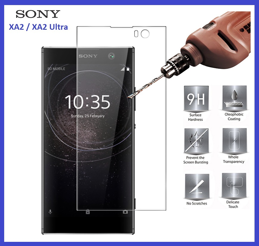 Sony XPeria XA2 / XA2 Ultra Tempered Glass Screen Protector