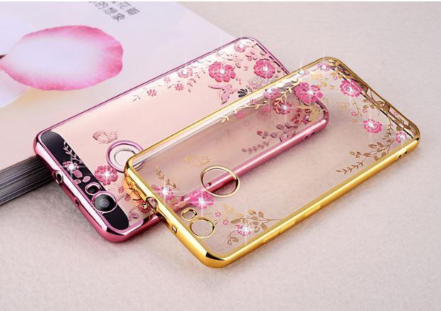 Huawei Honor 9 Lite Diamond Secret Garden TPU Case Cover Bumper