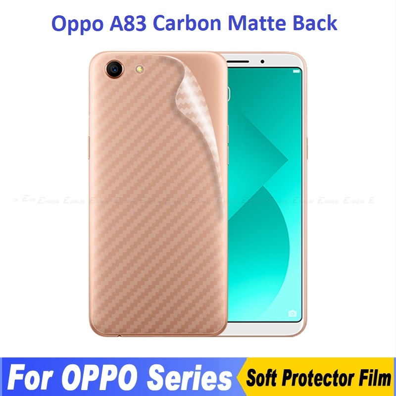 Oppo A83 Back Carbon Matte Film Screen Protector