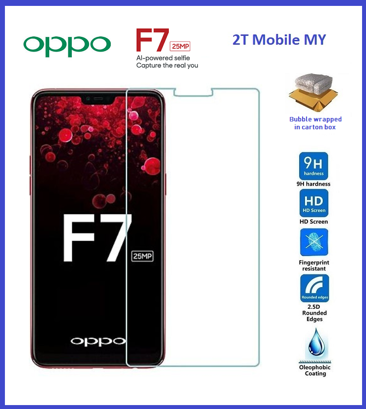 Oppo F7 Tempered Glass Screen Protector