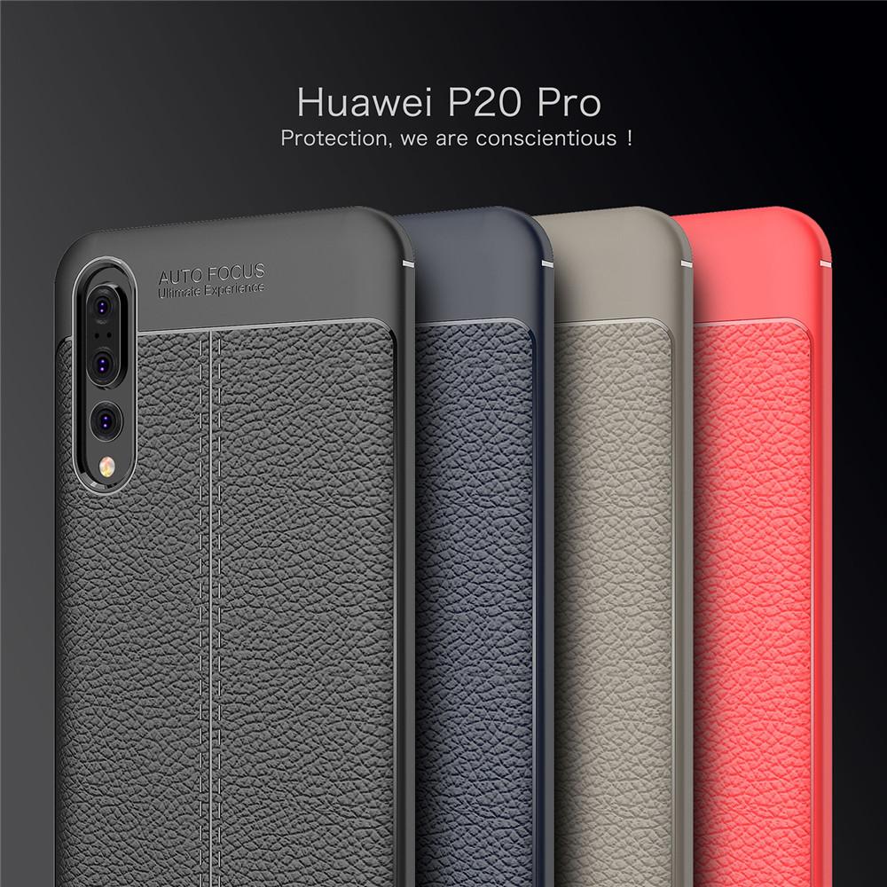 Huawei P20 / P20 Pro Dermatoglyph Case Matte Anti-Fingerprint Bumper