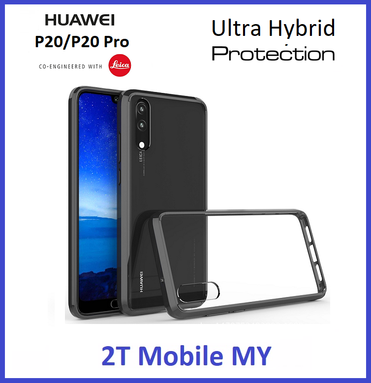 Huawei P20 / P20 Pro Air Hybrid TPU Case Slim Bumper Fusion Cover