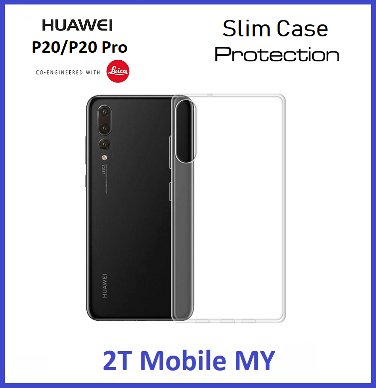 Huawei P20 / P20 Pro Soft Transparent Case Slim TPU Cover