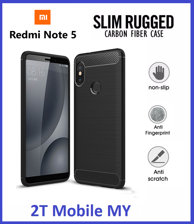 XiaoMi RedMi Note 5 Slim Protection Rugged Armor Bumper TPU ...