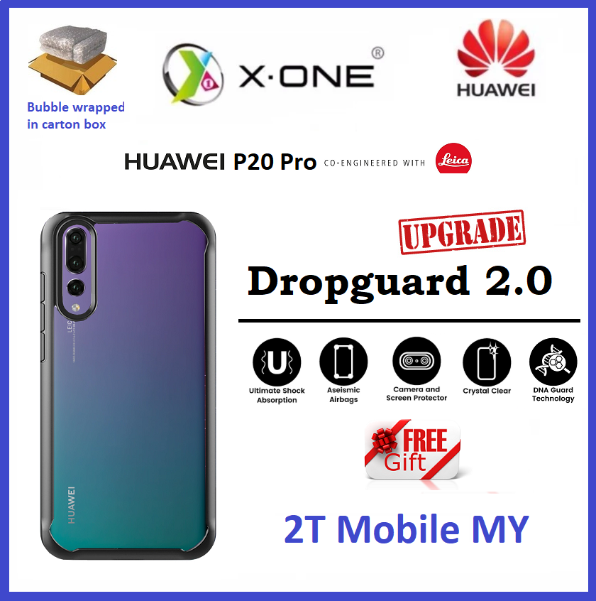 daed3fcde8c Huawei P20   P20 Pro Upgraded X-One Drop Guard Ver 2.0 Case Anti Shock