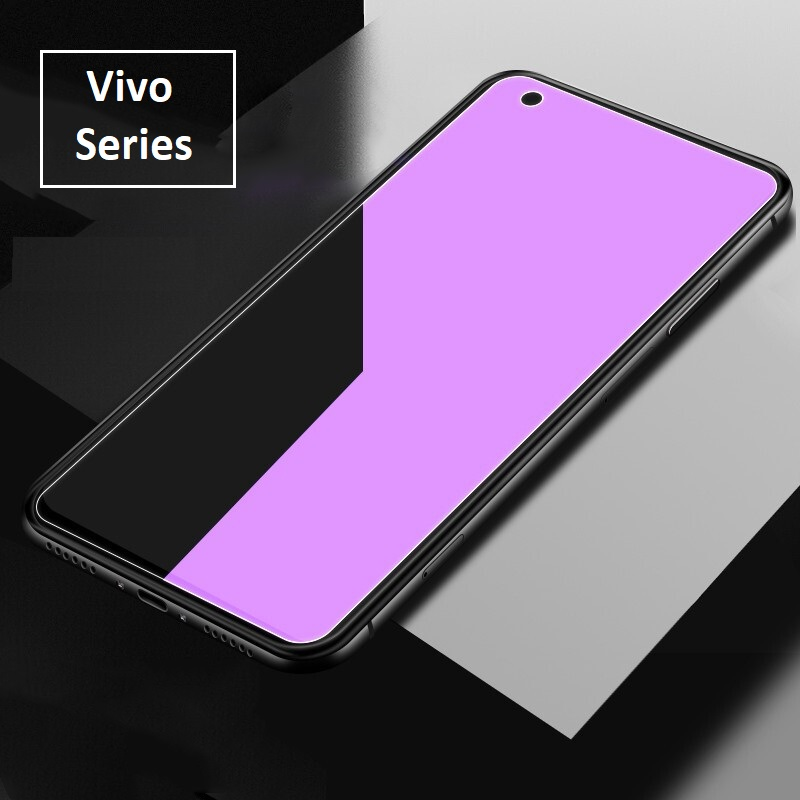 Vivo X50 / X21 / V9 / Y85 Anti Blue Light Ray Full Tempered Glass Screen Protector