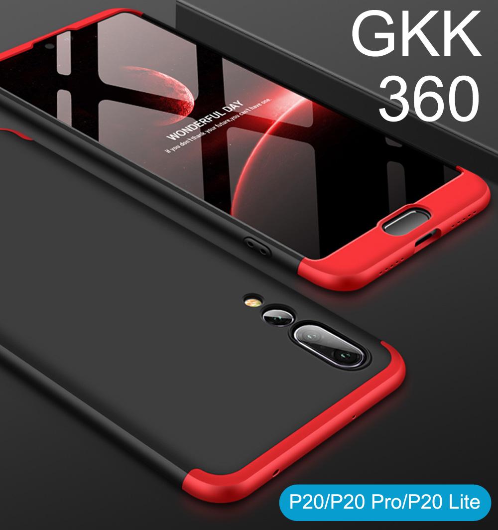 Huawei P20 Pro GKK 360 Full Protection Slim Fit Case Bumper Cover