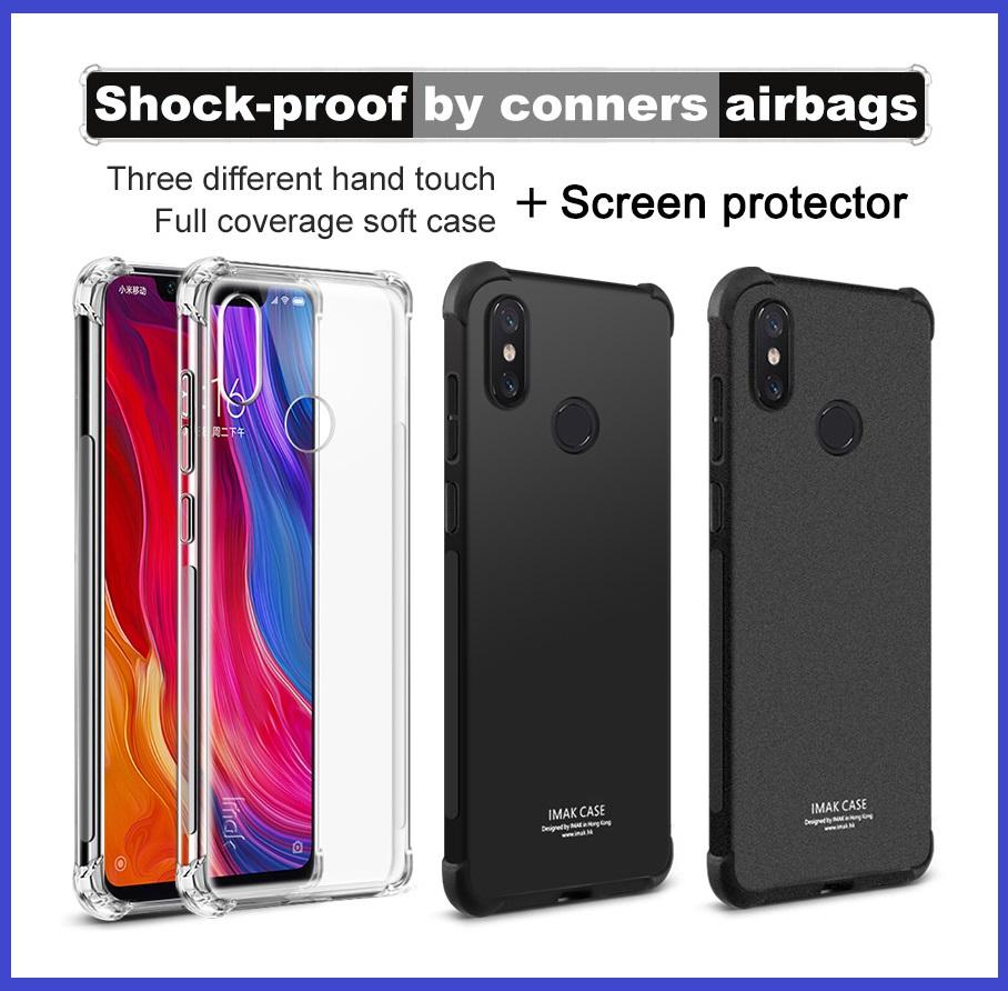 Xoxo Beauty Store New Arrival Hikaru Anti Glare Xiaomi Redmi Note 4 4x Clear Mi8 Imak Shock Resistant Airbag Tpu Case Bumper Cover