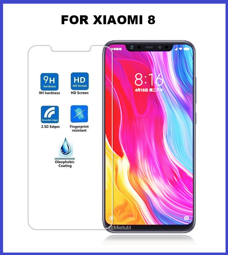 XiaoMi Mi8 Tempered Glass Screen Protector 2.5D