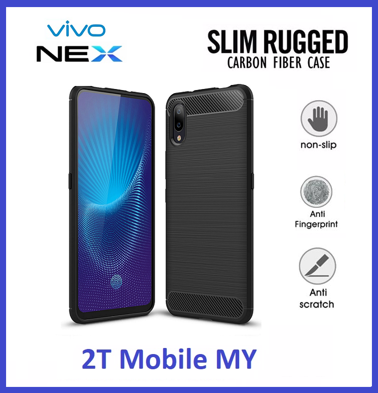Vivo NEX Slim Protection Rugged Armor Bumper TPU Case Cover