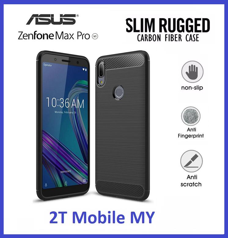 cheap for discount f698f a1f5a Asus Zenfone Max Pro (M1) ZB601KL Rugged Armor Bumper TPU Case Cover