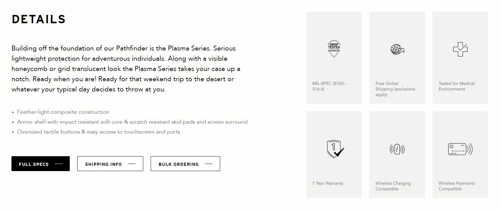 Samsung Galaxy Note 20 / Note 20 Ultra / S20 Plus / S20 Ultra / Note 10 Plus UAG Urban Armor Gear Plasma Case Bumper ORI