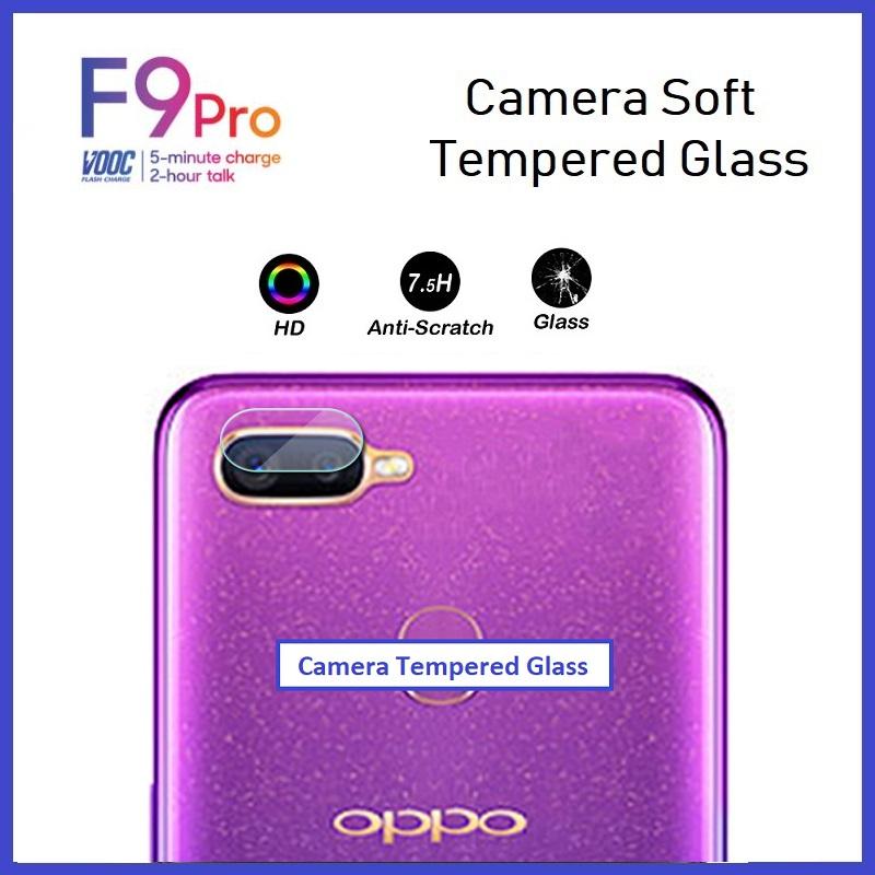 Oppo F11 Pro / F9 / F9 Pro Camera Tempered Glass Soft Protector
